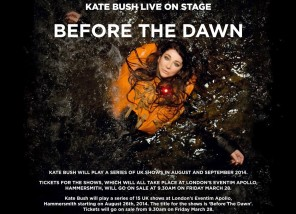 Kate Bush -Before The Dawn