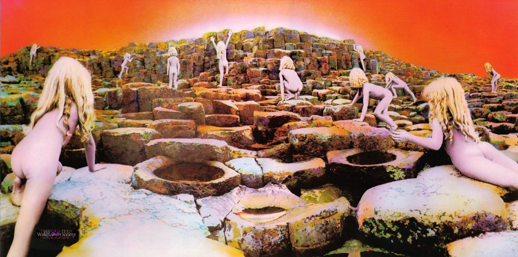 Ian Burt houses of the holy - led zeppelin 1973  More brilliant art work from Storm Thorgerson.