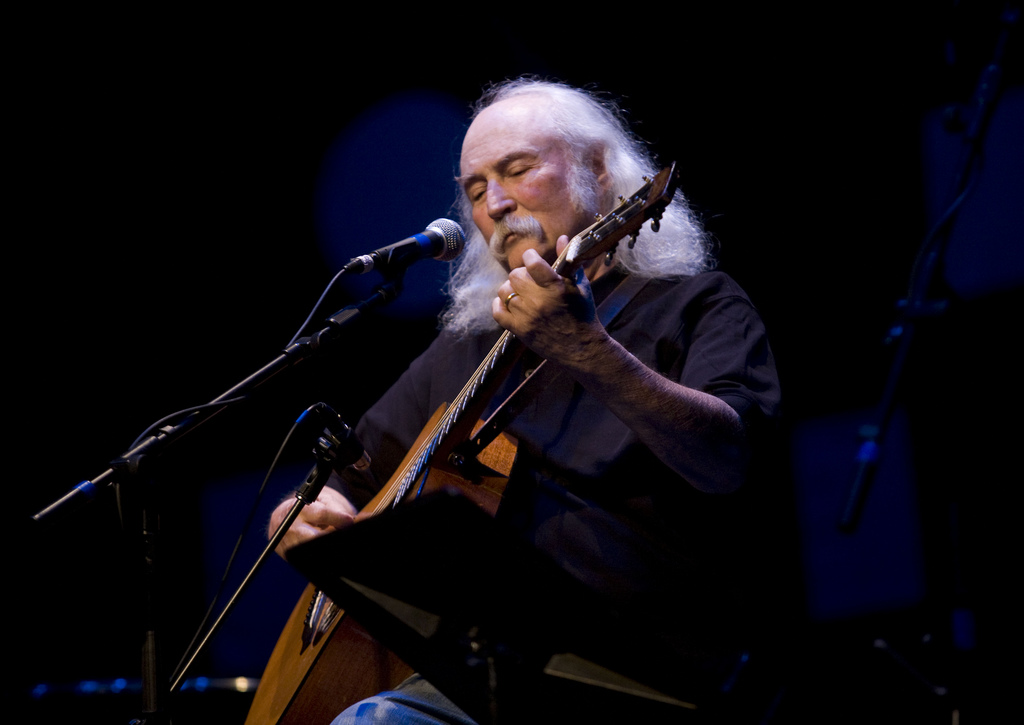 David Crosby Performs at the Etown Concert by WEBN-TV