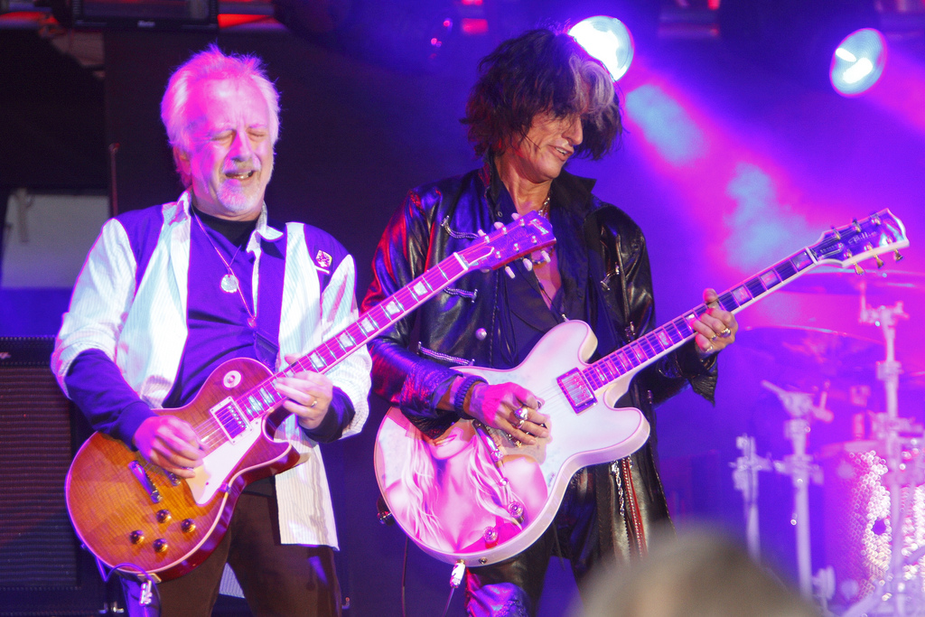Aerosmith at Oracle Open World 2009 by Alan Moore