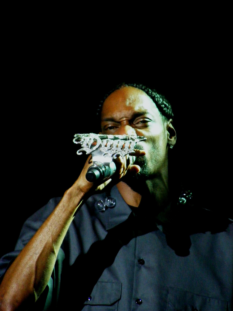 Snoop Dogg performing at the Manchester Apollo on Friday the 15th of July 2011