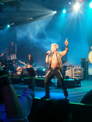 Billy Idol playing at the Google I/O party in San Francisco by  Robert Nyman8