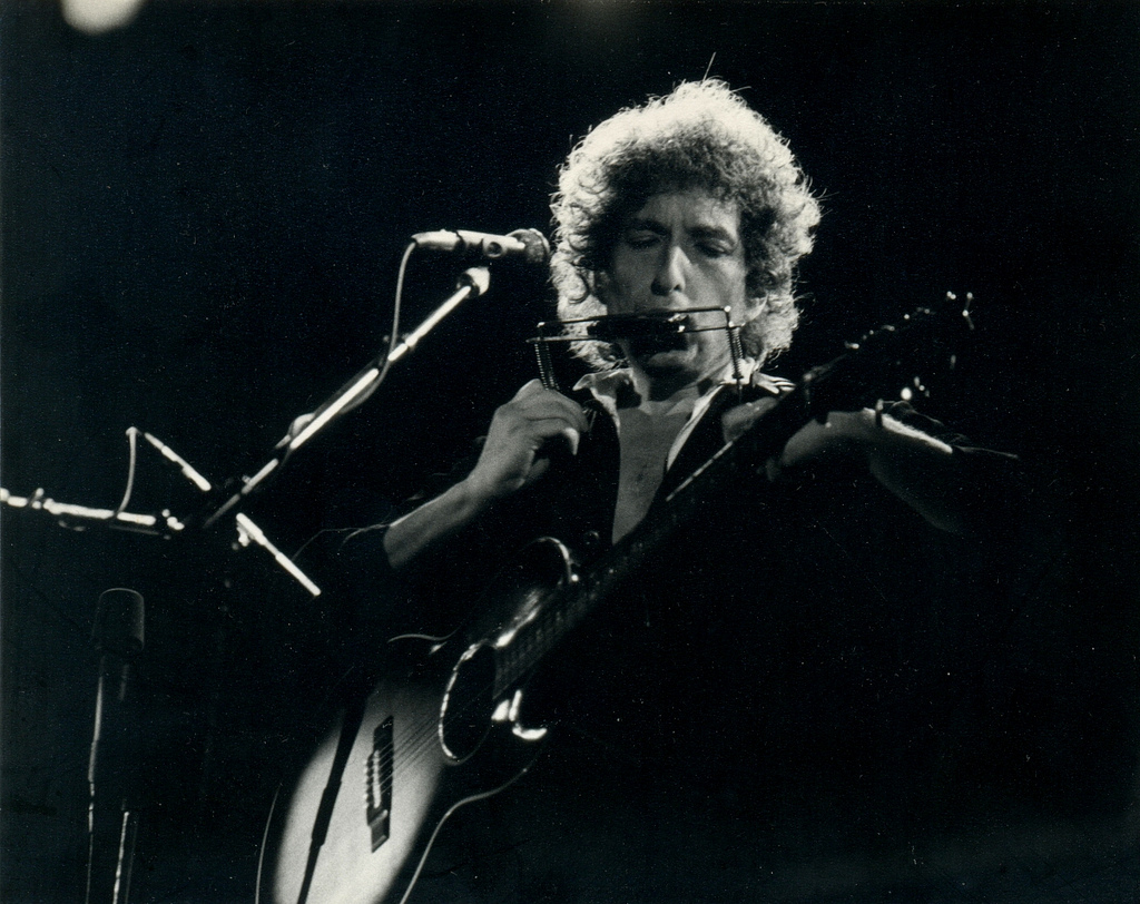 Bob Dylan by  Xavier Badosa