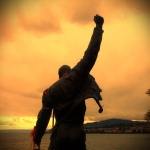 Freddie Mercury tribute  Montreaux, Switzerland by Nuno Alexandre Silva