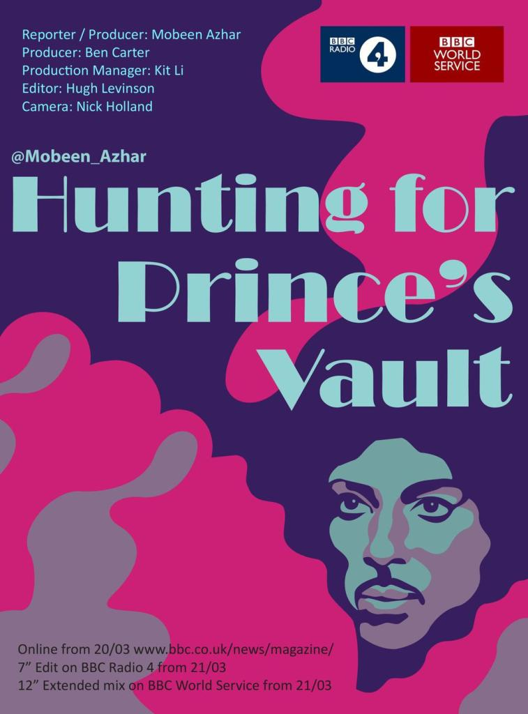 Hunting for Prince's vault