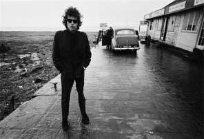 ©BARRY FEINSTEIN PHOTOGRAPHY. All rights reserved, Bob Dylan, Aust Ferry, Bristol, 1966