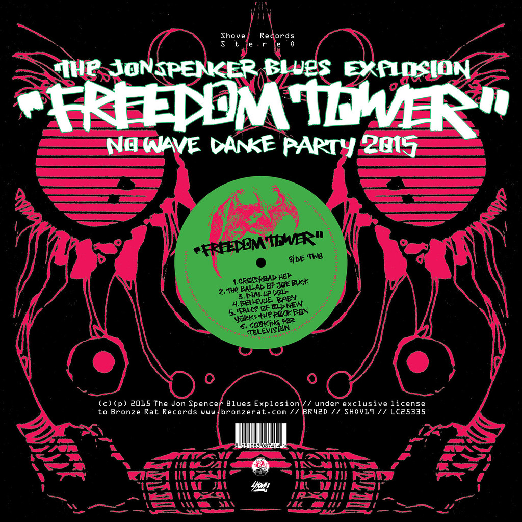 Freedom_Tower Jon Spencer Blues Explosion cover