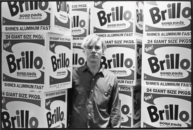 © Estate of Fred W. McDarrah - Warhol & Brillo Boxes, 1964
